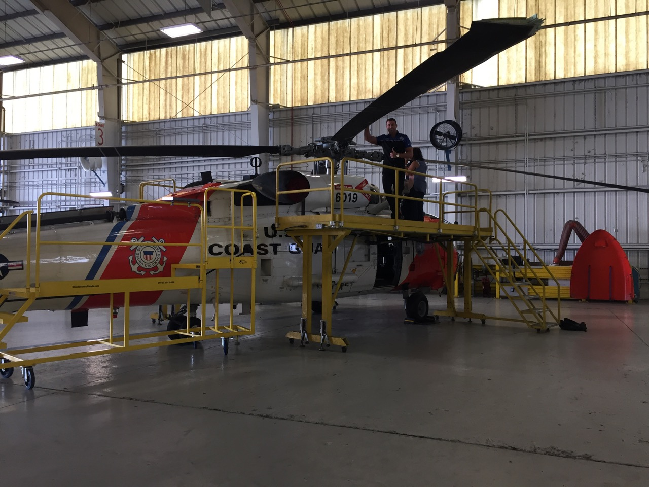 MH-60-Tail-Boom-Side-Maintenance-Stand